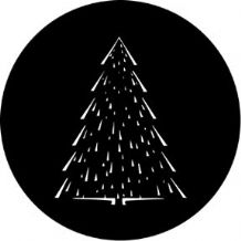 Rosco 73633 Christmas Tree C Gobo